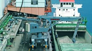 Discharging-of-78-tons-Cement-unloader-at-Indonesia
